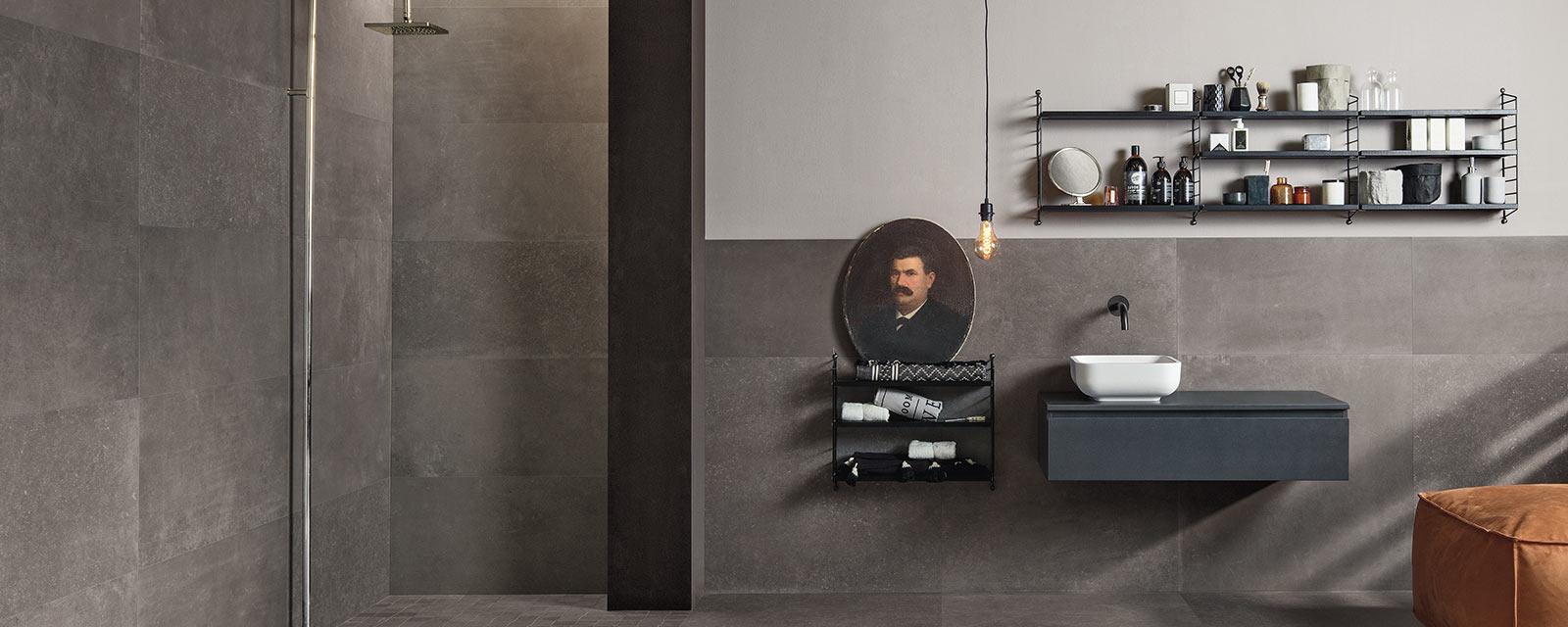 utiliser du béton minéral pour décorer sa salle de bains  Guide
